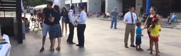 Actividad misional Plaza Juárez